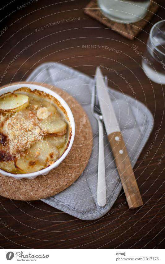 Nutrition Delicious Appetite Crockery Lunch Vegetarian diet Potatoes Slow food Gratin
