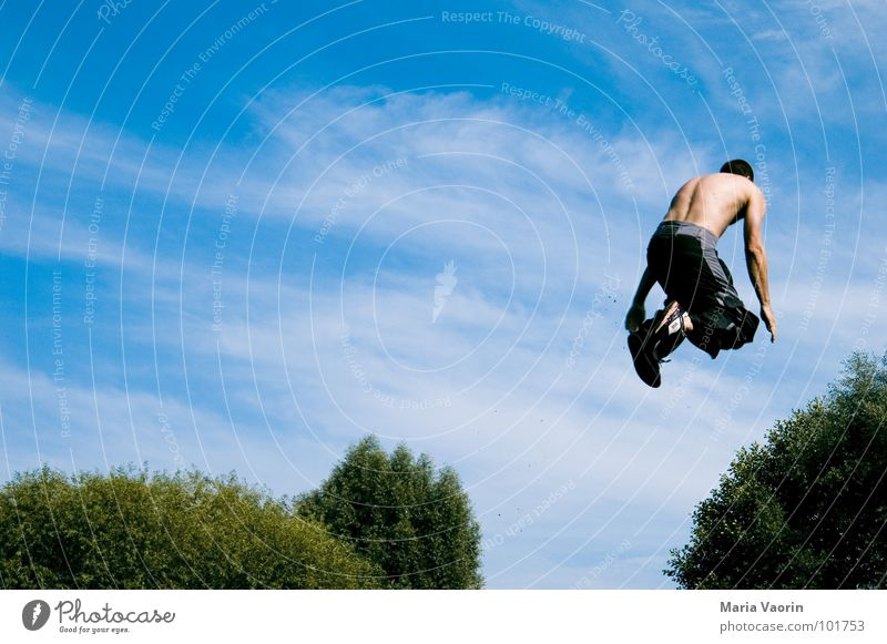 Into the bushes Air Free Headwind Jump To fall Beginning Go-getter Freestyle Crash Discarded Leisure and hobbies Funsport Sky Flying Freedom Tall Sudden fall