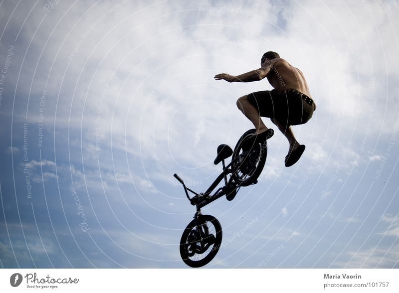 Sky Youth (Young adults) Far-off places Jump Freedom Air Bicycle Fear Airplane Flying Beginning Tall To fall Infinity Sudden fall