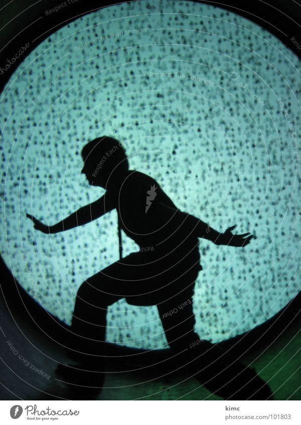 Woman Human being Dark Movement Lamp Dance Art Culture Longing Tunnel Stride