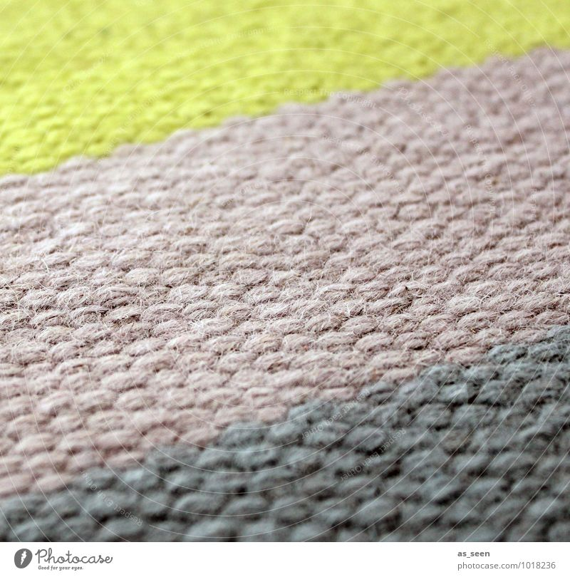 Green Colour Calm House (Residential Structure) Yellow Interior design Lanes & trails Gray Going Pink Design Warm-heartedness Stripe Tilt Cloth Profession