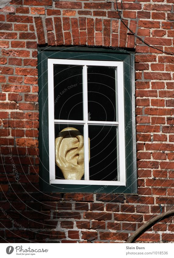 City House (Residential Structure) Window Observe Threat Communicate Safety Curiosity Ear Village Contact Media Listening Watchfulness Old town
