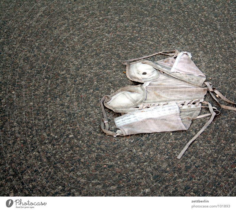Street Clothing Asphalt Obscure Traffic infrastructure Underwear Accident Amazed
