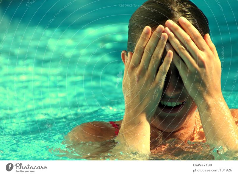 Water Summer Joy Cold Warmth Swimming & Bathing Wet Swimming pool Swimming Physics Navigation Absurdity Chlorine