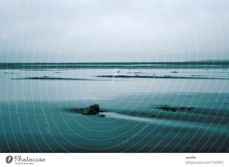 Blue Water Ocean Beach Calm Far-off places Freedom Coast Sadness Dream Rock Wet Grief Infinity Longing Harmonious