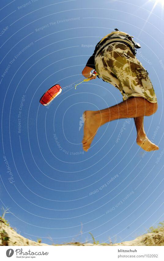 Sky Sun Ocean Blue Joy Beach Vacation & Travel Sports Life Jump Sand Power Coast Wind Action Peace