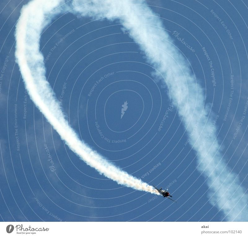 Sky Blue Joy Clouds Airplane Action Aviation Wing Event Smoke Sporting event Sound Jubilee Warped Army Freiburg im Breisgau