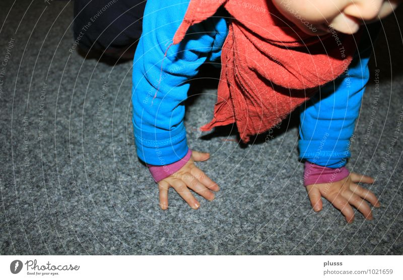 """""""World Tour"""" Child Baby Toddler Infancy Arm Hand 1 Human being 0 - 12 months 1 - 3 years Movement Going Walking Study Blue Red Joie de vivre (Vitality)"""