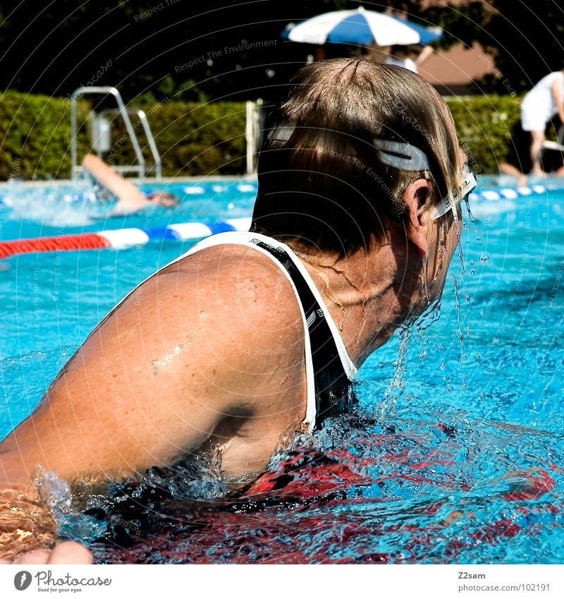 Water Sports Movement Hair and hairstyles Healthy Time Railroad Sports Training Rotate Sporting event Aquatics Reunification Disciplined Crawl (swim) Overtake