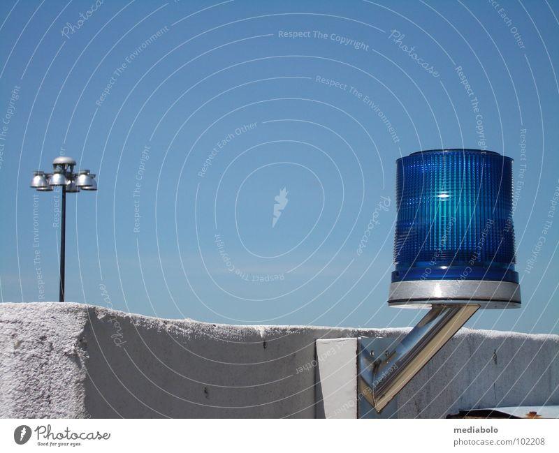 Sky Blue Lamp Logistics Airport Signal Warning light