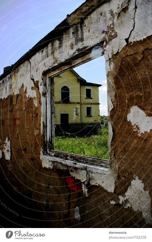Abandoned house Window Building Factory Room Loneliness Broken Meckenbeuren Destruction