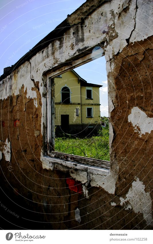 Loneliness Window Building Room Factory Broken Destruction