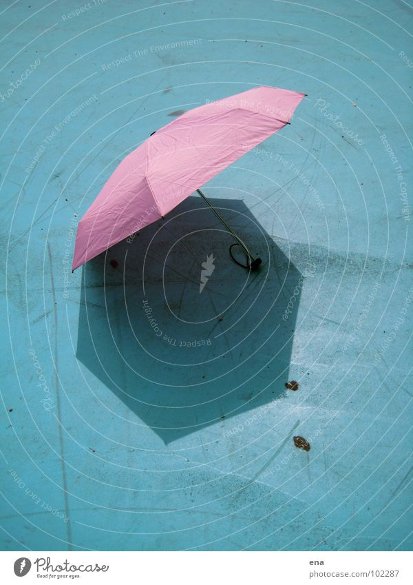 parasol I Sunshade Umbrella Wet Dry Shadow play 7 Pink Thusnelda Playground Summer Rain Blue Protection Nature 7-corner fluffy