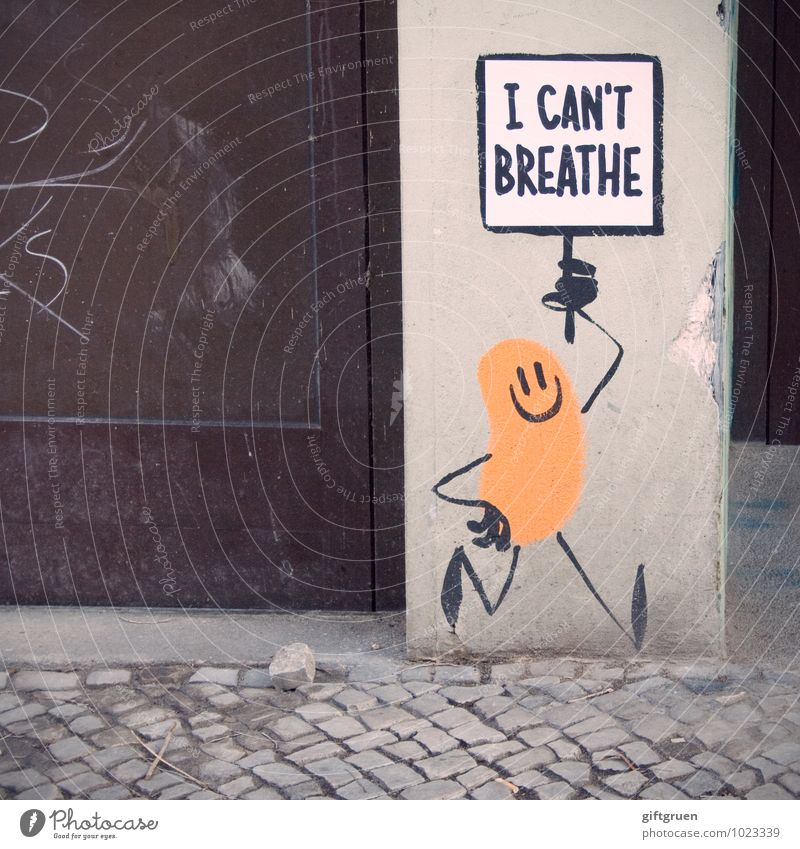 politics on the wall Town House (Residential Structure) Manmade structures Wall (barrier) Wall (building) Door Pedestrian Breathe Going Asphyxiate Death