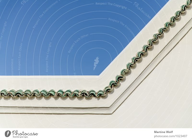 Sky Beautiful Wall (building) Architecture Wall (barrier) Decoration Africa Morocco Rabat