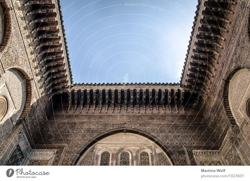 Vacation & Travel Architecture Facade Africa Tourist Attraction Morocco Fez Fes-el-Bali