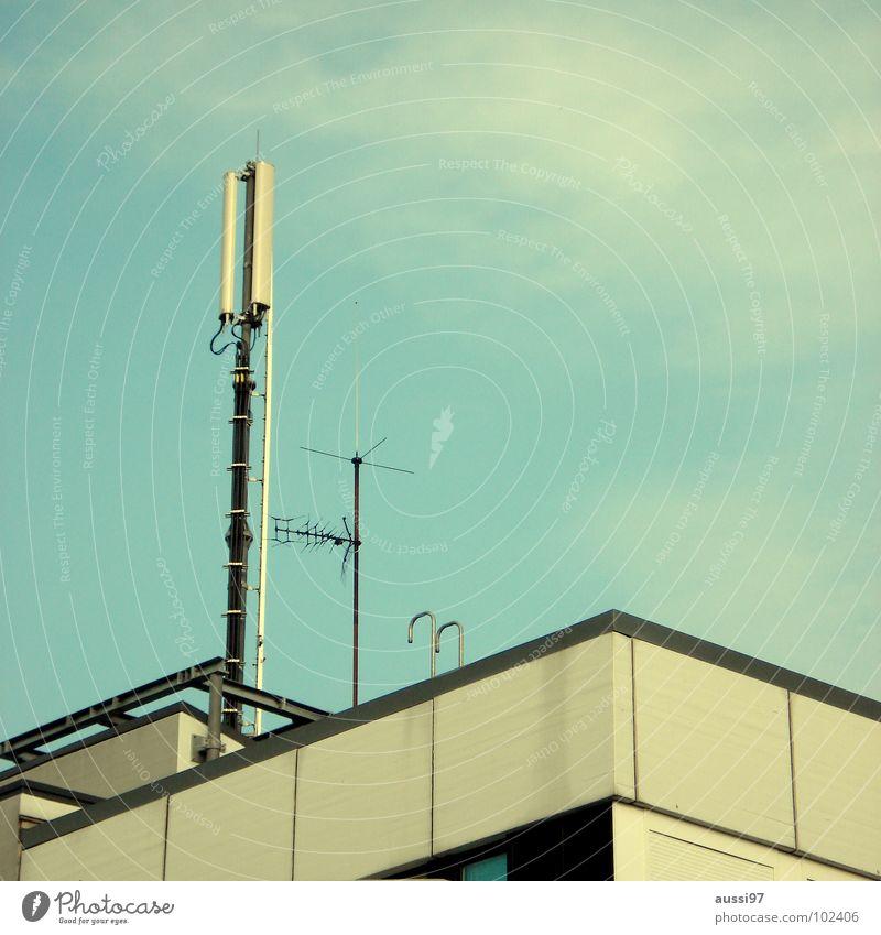 High-rise Roof Story Radiation Antenna Smog Shellfish Transmit Penthouse Media Frequency Broadcasting Transmission power