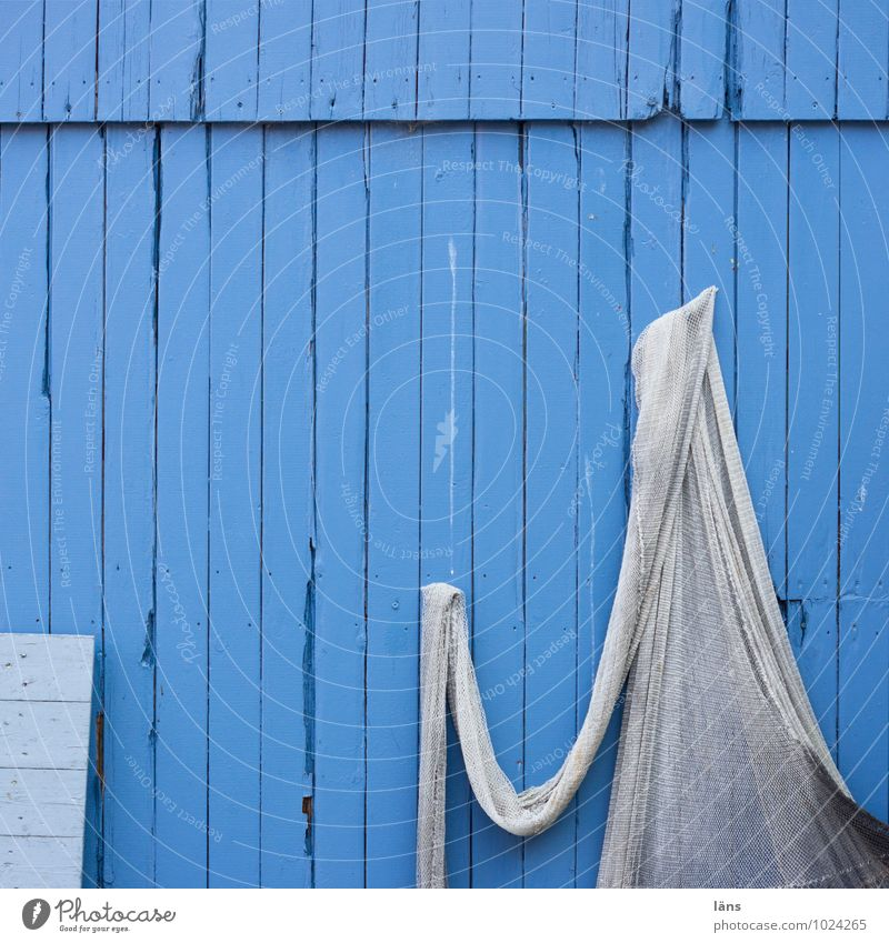 Hui Boo Fishery Fishermans hut House (Residential Structure) Wall (barrier) Wall (building) Facade Net Hang Maritime Blue Break Wooden house Suspended Droop
