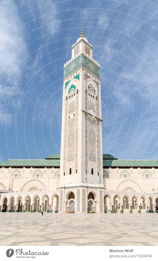 Hassan II Casablanca Morocco Africa Town Port City Places Manmade structures Building Architecture Mosque Vacation & Travel Religion and faith Mosque Hassan II.