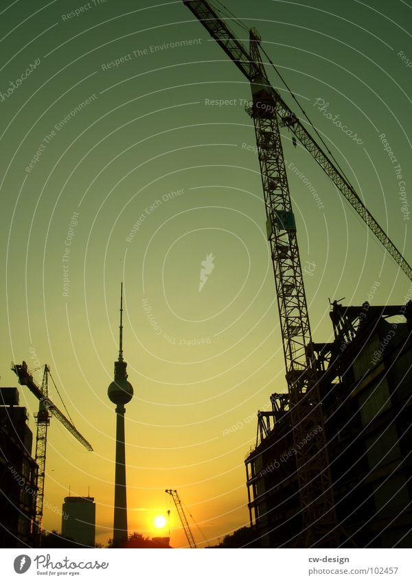 Sky White Sun Blue City Black Clouds Lamp Dark Berlin Graffiti 2 Art Architecture Germany