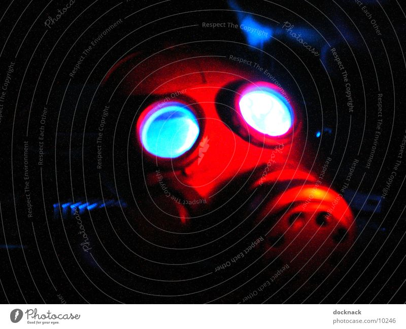 Lamp Dark Fear Mask Things Respirator mask