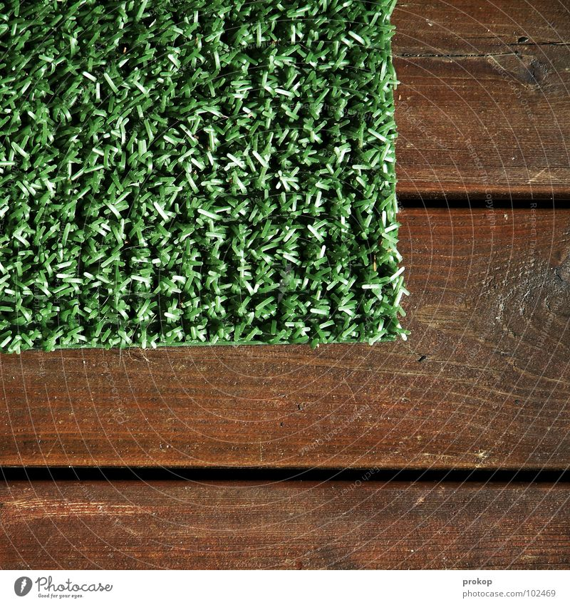 corner Minimal Artificial lawn Wood Doormat Graphic Square Rectangle Geometry Meadow Simplistic Boredom Obscure Ball sports quantity theory Lawn Statue Placed