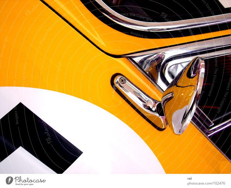 vintage car Vintage car Yellow Design Classic Rear view mirror Motorsports Car Window pane Old 57