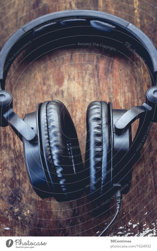 Blue Wood Brown Music Simple Event Bar Club Headphones Disco Night life Entertainment Disc jockey Lounge Headset Cocktail bar