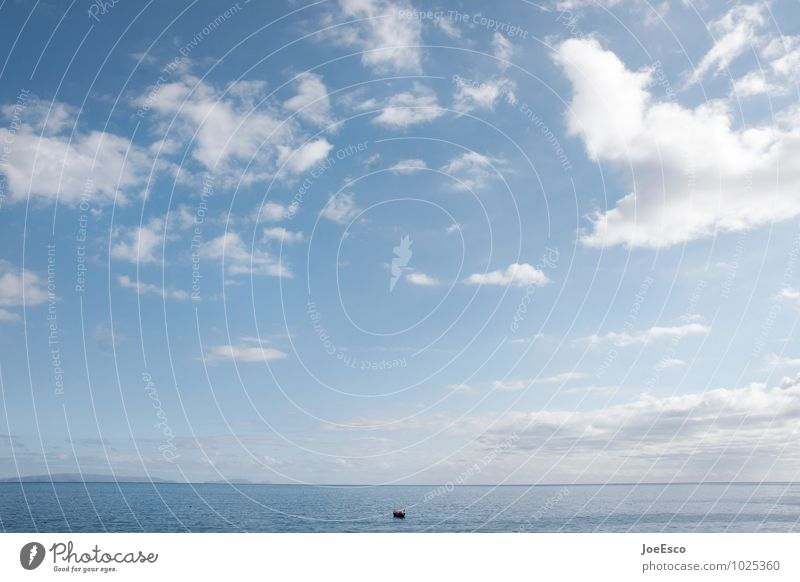 Sky Nature Summer Ocean Calm Clouds Far-off places Freedom Horizon Watercraft Contentment Beginning Adventure Hope Serene