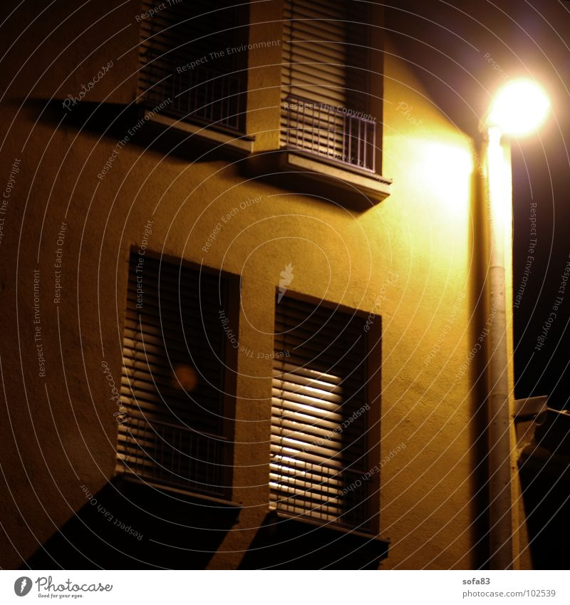 Loneliness House (Residential Structure) Window Building Lamp Lantern Enclosed