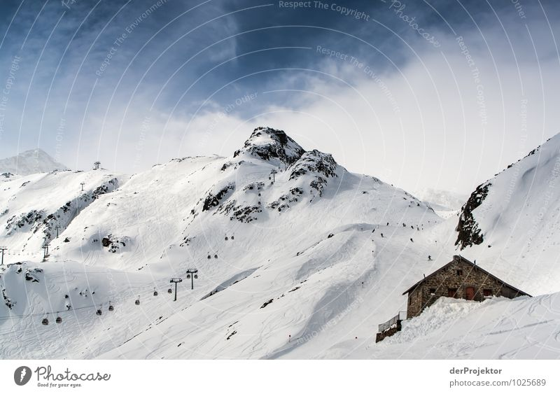 Nature Vacation & Travel Landscape Winter Mountain Environment Snow Rock Tourism Large Peak Hill Alps Snowcapped peak Skiing Hut