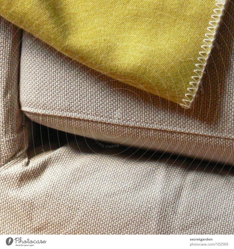 Green Relaxation Calm Warmth Interior design Gray Design Living or residing Corner Cool (slang) Cloth Wrinkles Furniture Sofa Material Blanket