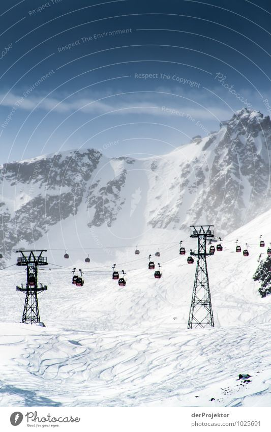 Sky Nature Vacation & Travel Landscape Far-off places Winter Mountain Environment Snow Sports Rock Tourism Beautiful weather Elements Peak Hill