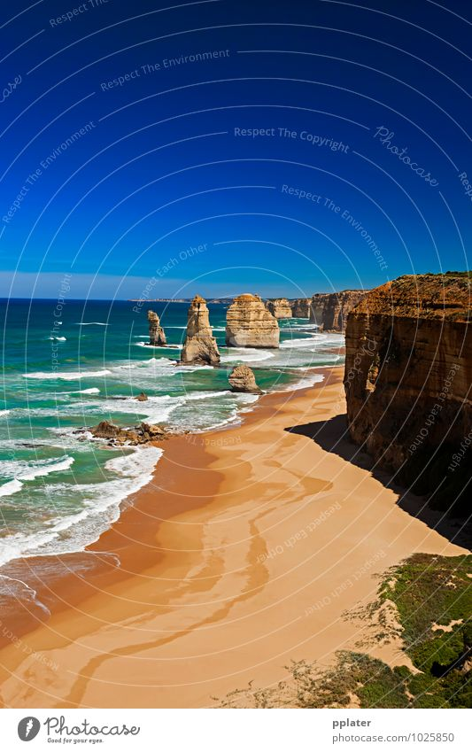 Apostle Portrait Beautiful Tourism Sightseeing Ocean Waves Landscape Sand Sky Horizon Coast Skyline Transport Natural Great Ocean Road Tourist Coastal Shipwreck