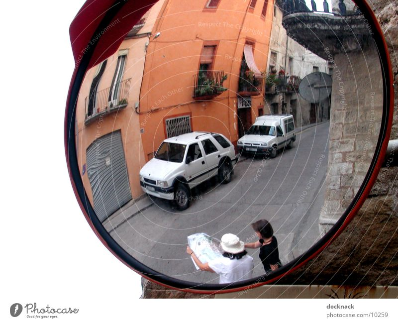 Human being Transport Mirror Spain Orientation