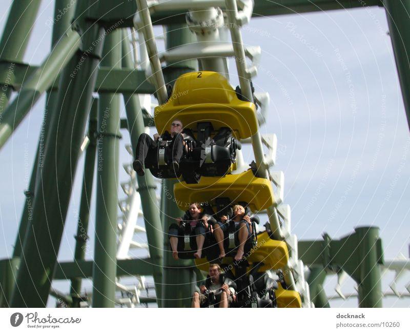 Human being Speed Technology Roller coaster Amusement Park Electrical equipment