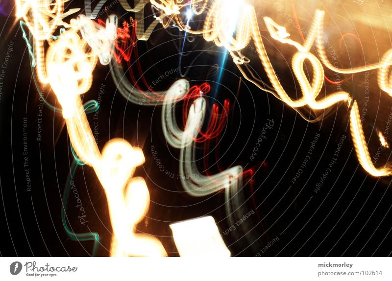 Insane speed Light Circle Curly Speed Long exposure Exposure Stripe Night Intoxicant nimble Alcohol-fueled Alcoholic drinks