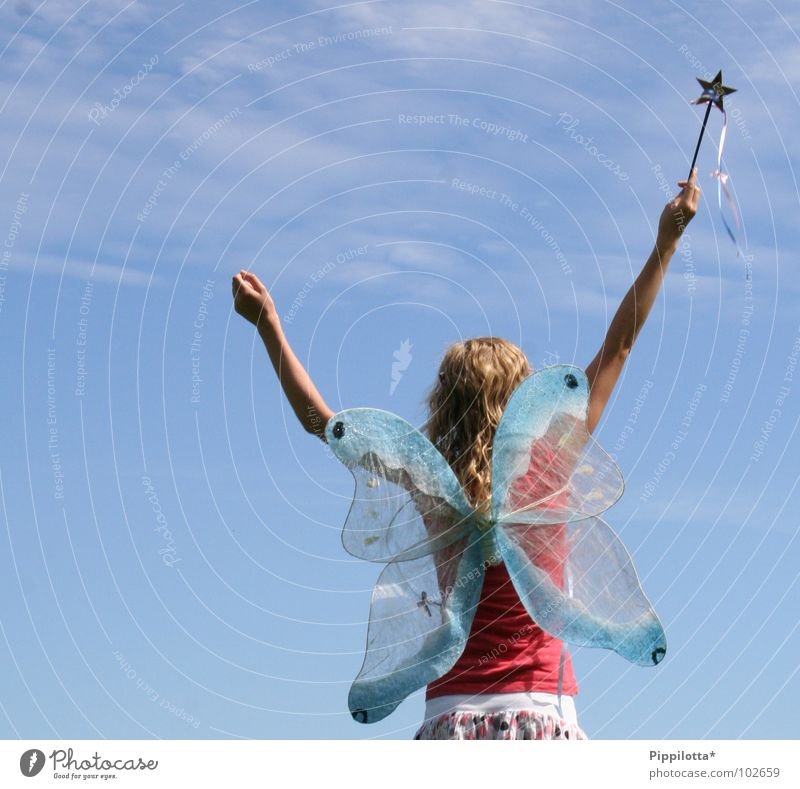 Sky Girl Joy Summer Freedom Happy Arm Contentment Flying Tall Happiness Star (Symbol) Aviation Open Peace