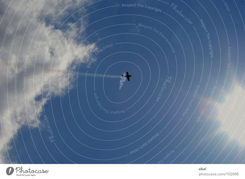 Sky Blue Joy Clouds Airplane Action Aviation Wing Event Smoke Airport Sporting event Sound Jubilee Warped Army