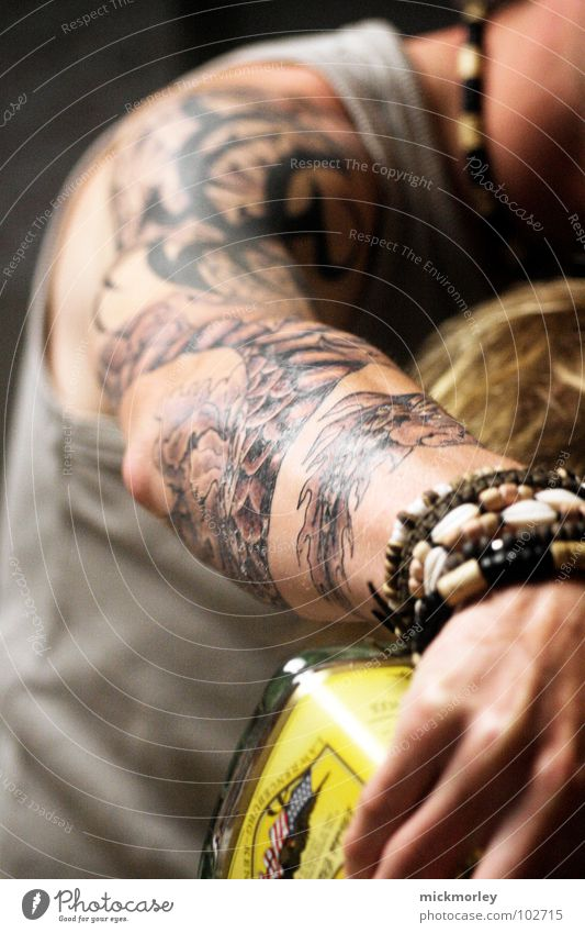 Hand Emotions Friendship Feasts & Celebrations Arm Drinking Society Tattoo Alcoholic drinks Section of image Partially visible Consumption Fill Bracelet Pour Gin