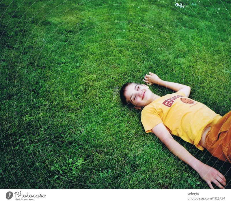 Green Summer Vacation & Travel Calm Life Relaxation Meadow Dream Sleep Soft Lie To enjoy Resting