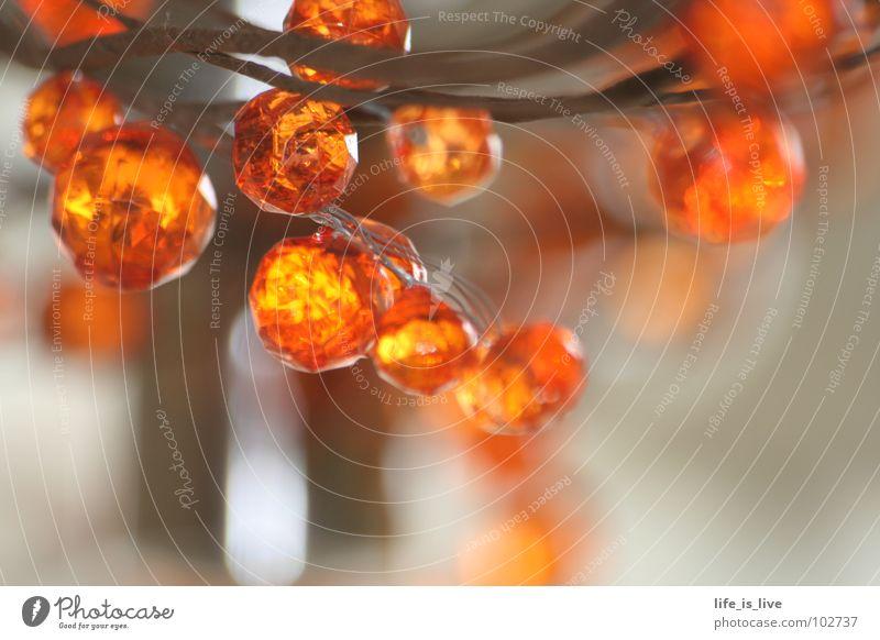 Beautiful Orange Art Small Round Culture Jewellery Pearl Chain Precious