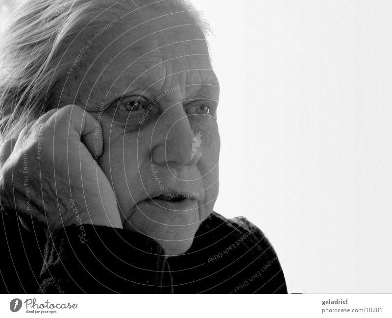 Woman Senior citizen Think Grandmother Female senior