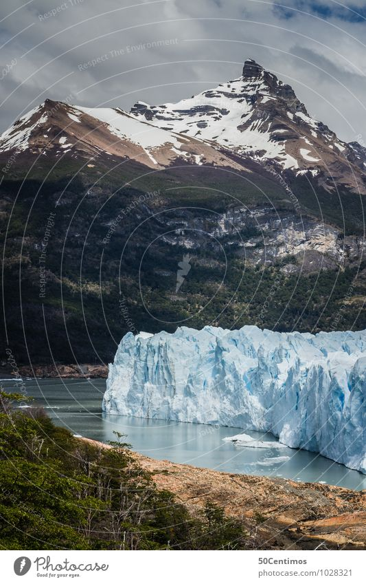 Glacier Perito Moreno in Patagonia of Argentina Leisure and hobbies Vacation & Travel Tourism Trip Adventure Far-off places Freedom Environment Nature Landscape