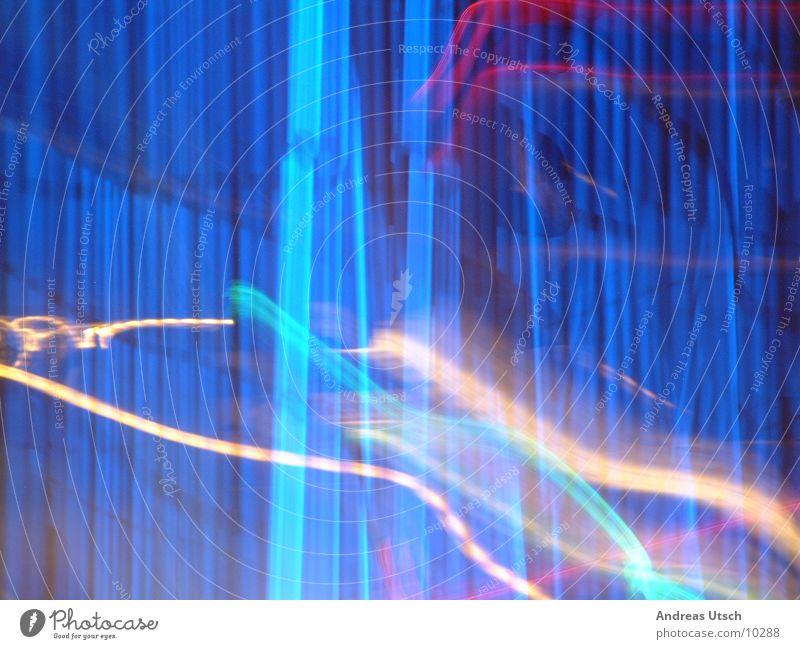 Blue Colour Style Line Reaction Photographic technology