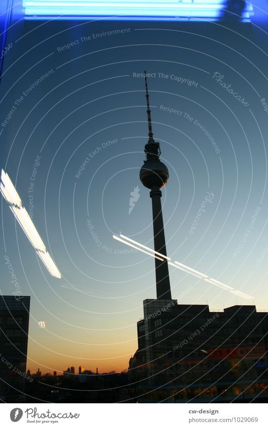 Berlin Night & Day Berlin TV Tower Downtown Berlin Germany Town Capital city Pedestrian precinct Skyline High-rise Places Marketplace City hall Train station