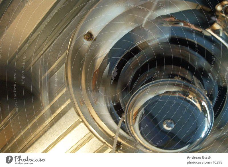 ventilator 1 Style Fan Speed Clear Rotate Glittering Things Metal