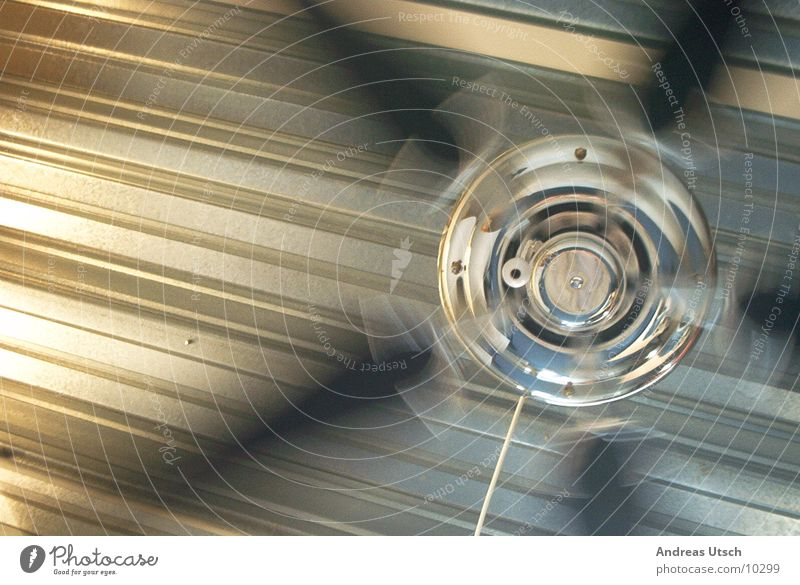 Style Metal Glittering Speed Things Rotate Rotate Clear Fan