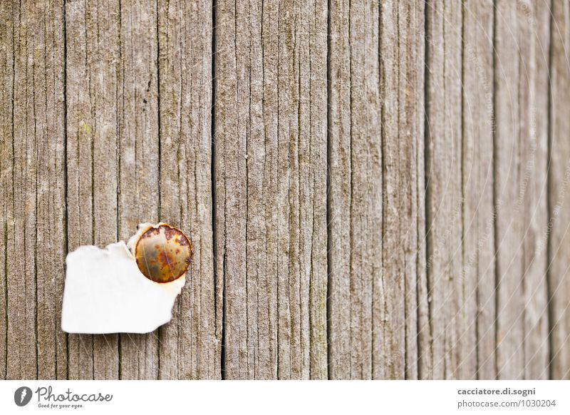 Old White Environment Wall (building) Funny Wall (barrier) Gray Wood Line Brown Facade Signage Simple Idea Broken Change