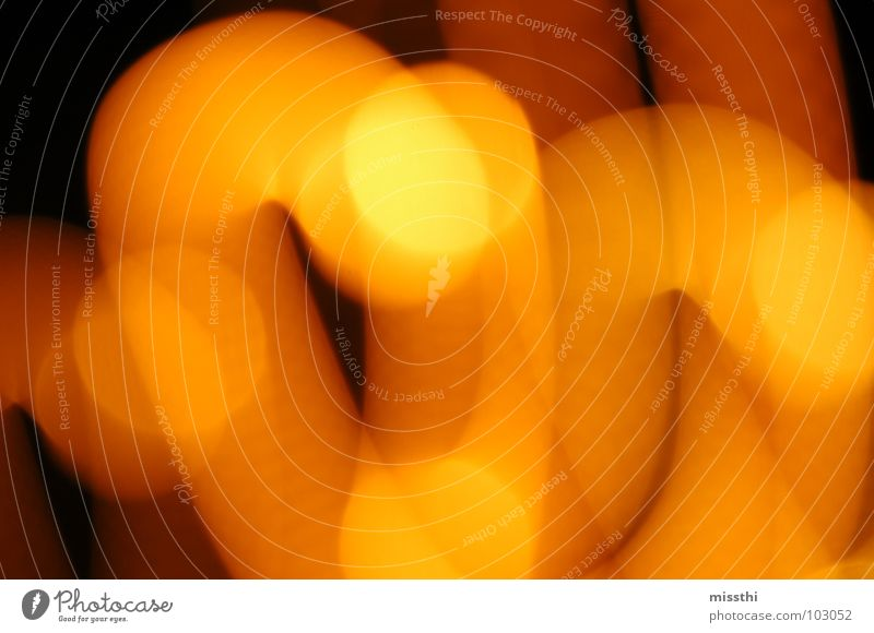 Black Yellow Colour Lamp Movement Lighting Orange Tracks Point Patch Chaos Mixture Muddled Visual spectacle Haste Swing